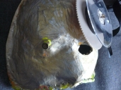 création de masques avec rouleua de vhs qui se déroulent tout seuls