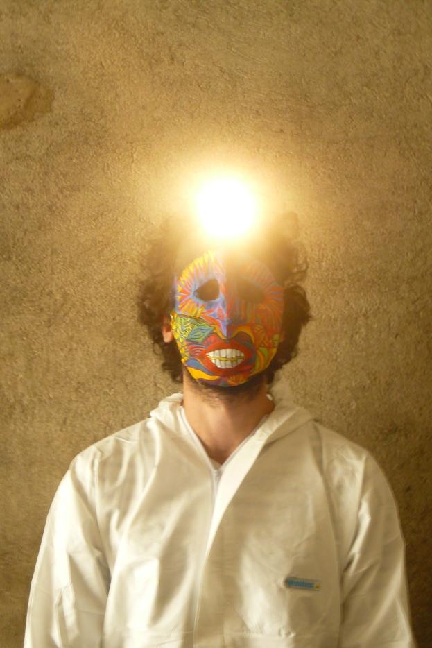création de masques pour concert