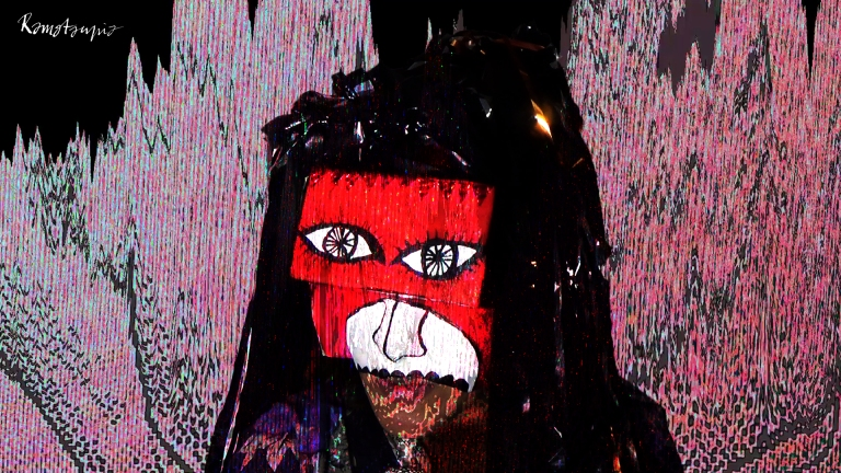 masque vidéoprojection